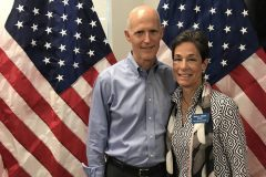 Governor Rick Scott in Palm Beach County supporting local jobs