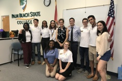 Presenting to Palm Beach State College Student Government