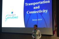 Presentation to Leadership Palm Beach County on Transportation and Connectivity